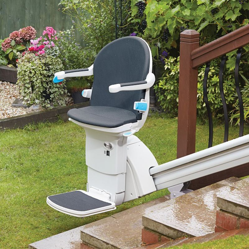 handicare 1000 outdoor handy care outside stair chair Kraus stairlift