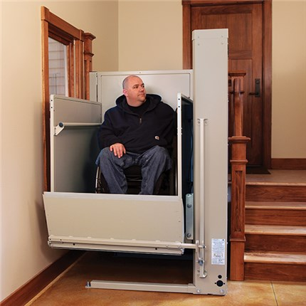 Kraus Bruno VPL Wheelchair Lift for Business Commerical ADA Access