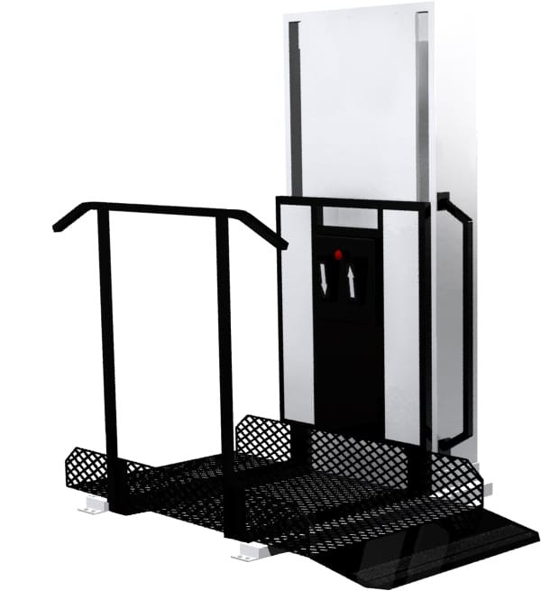 trus-t-lift trustram portable wheelchair lift