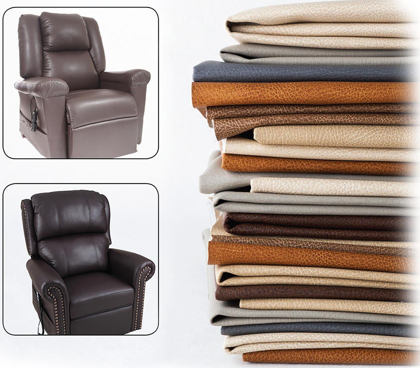 kraus leather like liftchair recliner
