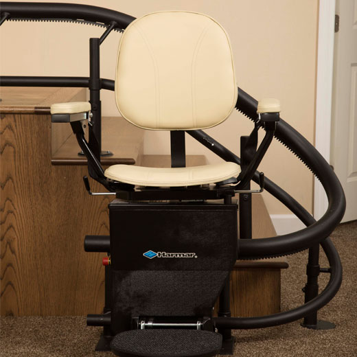 ELECTROPEDIC harmar helix stairway staircase chairlift