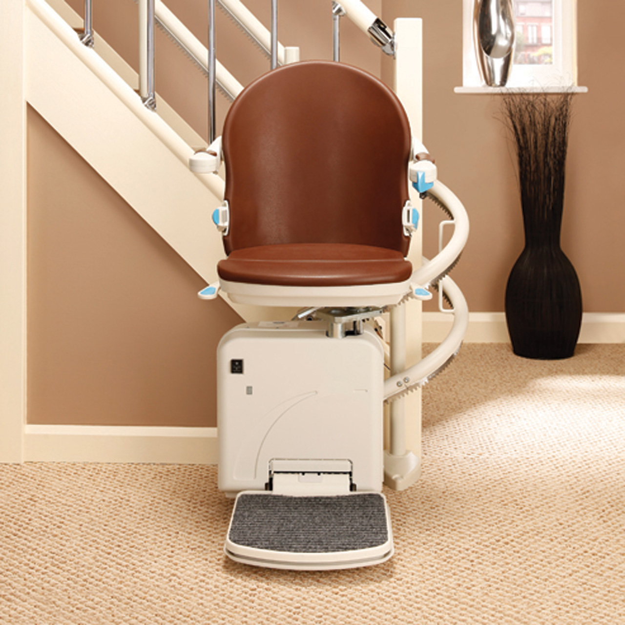 Handicare 2000 Los Angeles Curved Chair Stair Lift