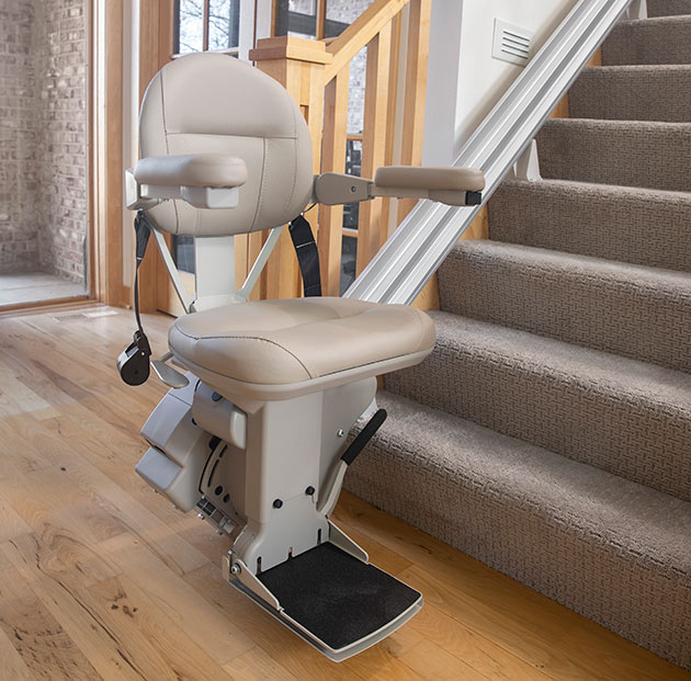 Lloyd Kraus Bruno Elite SRE 2010 heavy duty comfortable most high quality made in the usa stairlift